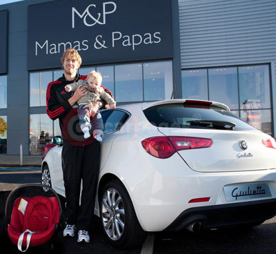 Child Seat Safety with Alfa Romeo and Mamas & Papas