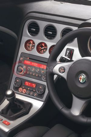 Alfa Romeo Sportwagon Interior