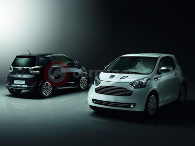 Aston Martin Cygnet Black and White Launch Editions