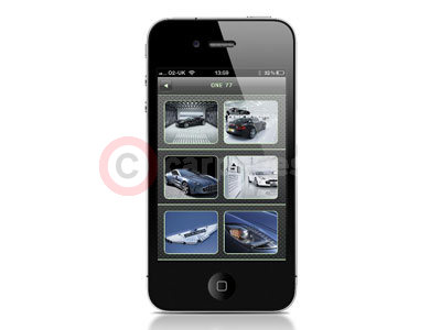 Aston Martin Explorer iPhone App