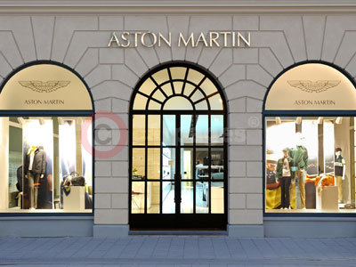 aston martin opens a new retail store in munich. Black Bedroom Furniture Sets. Home Design Ideas