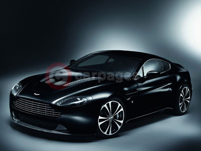 The Aston Martin V12 Vantage Carbon Black