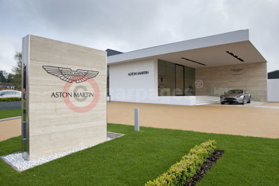 The New Aston Martin Works Dealership At Newport Pagnell - Aston martin dealerships