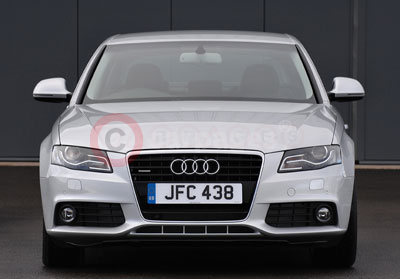 The New Audi A4 - Front View