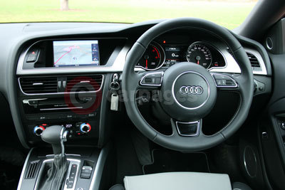 Audi A5 Coupe Interior (2012)