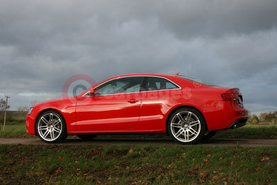 Audi A5 Coupe Side (2012)