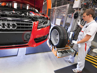 Audi A5 Production At The Ingolstadt Plant