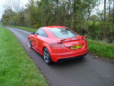 Audi TT (Rear Side View) (2013)