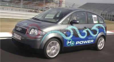 Audi A2-H2 Fuel Cell Hybrid