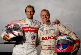 Johnny Herbert And Emanuele Pirro