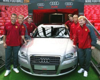 Audi Official Car Supplier To Manchester United