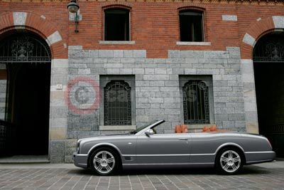 The New Bentley Azure T With the Roof Down