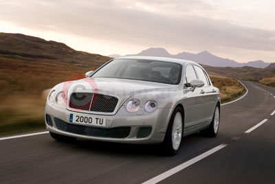The New Bentley Continental Flying Spur