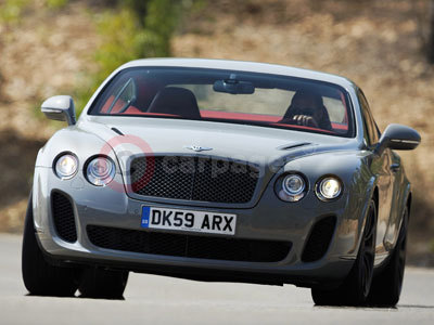 Bentley Continental Supersports. The New Bentley Continental