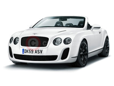 New Bentley Continental Supersports Convertible