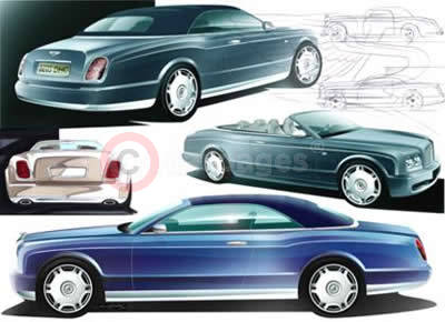 Bentley Arnage Drophead Coupe Design