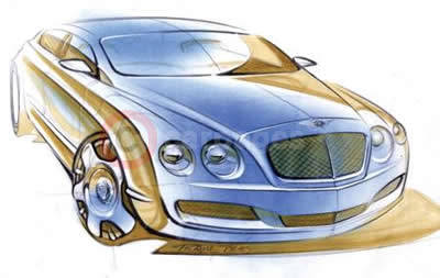 Bentley Continental Flying Spur - Design concept