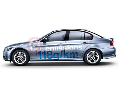 The New BMW 316d Saloon