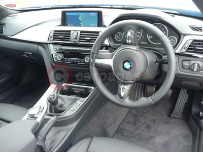 BMW 4 Series (Interior View) (2013)