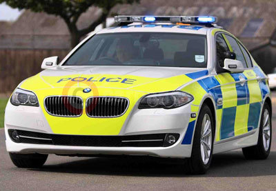 BMW 530d Saloon In Police Livery