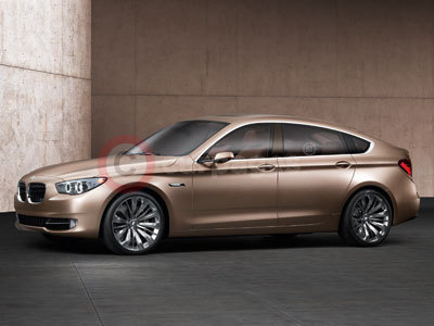 The BMW 5 Series Concept Car