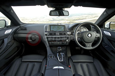 BMW 6 Series Gran Coupe (Interior) (2012)