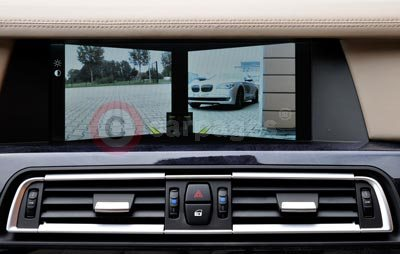 BMW 7 Series Side View Camera Display