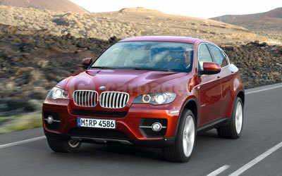 BMW X6 Front Side