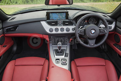 BMW Z4 (Interior View) (2013)