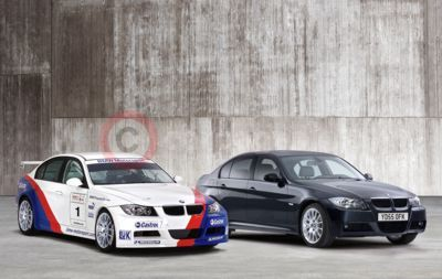 The 2006 BMW WTCC Car and The New BMW 320si Saloon