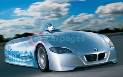 The BMW H2R Record Car - The New BMW Art Car
