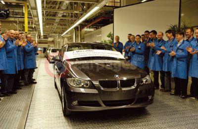 BMW Plant Leipzig Production Start