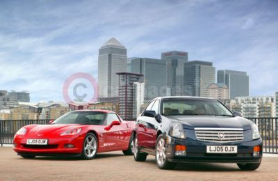 Corvette C6 and Cadillac CTS