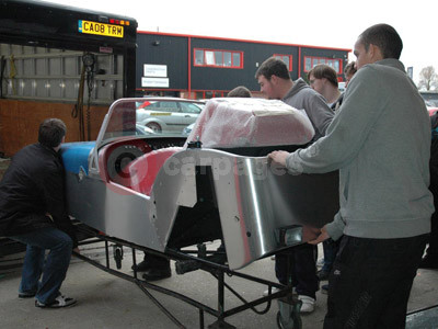 K College Students Begin Caterham Seven Build
