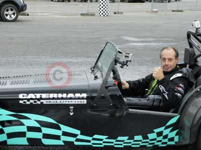 Terry Grant and The Caterham Seven
