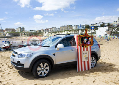 The Chevrolet Captiva Punch & Judy Show