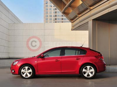 Prices and Specifications Announced For The Chevrolet Cruze Hatchback