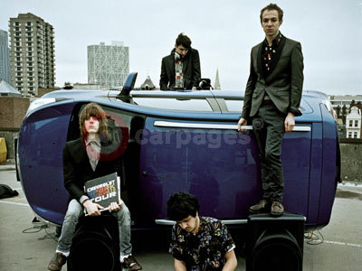 The Mystery Jets With The Chevrolet Spark DJ Car