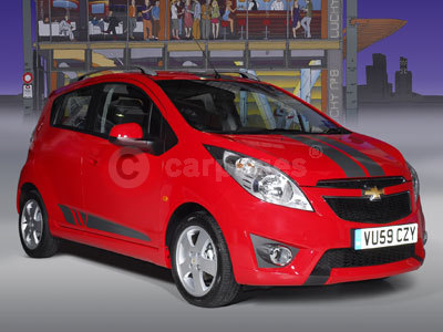 New Chevrolet Spark With Sport Tag