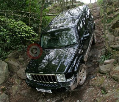 Jeep Commander Off Road