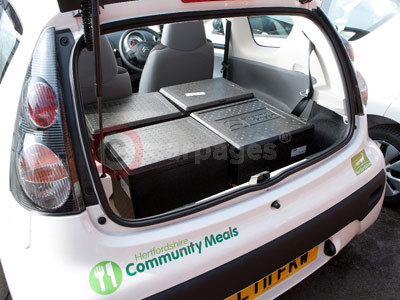Hertfordshire Community Meals Converted Citroen C1