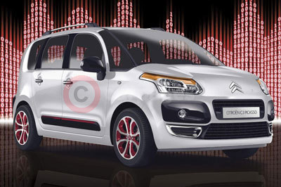 The Special Edition Citroen C3 Picasso Code