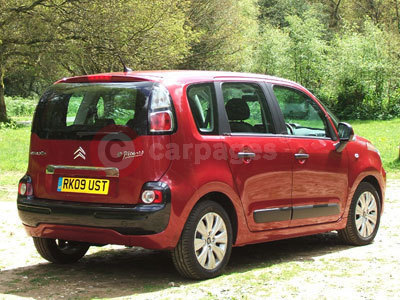 The Citroen C3 Picasso Rear View