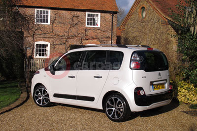 Citroen C3 Picasso (Rear / Side View) (2013)