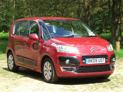 The Citroen C3 Picasso Side View