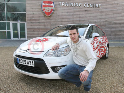 The Arsenal Styled Citroen C4