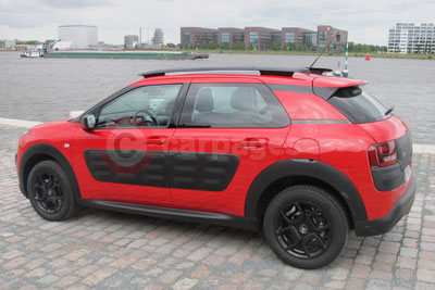 Citroen C4 Cactus (Rear Side View) (2014)
