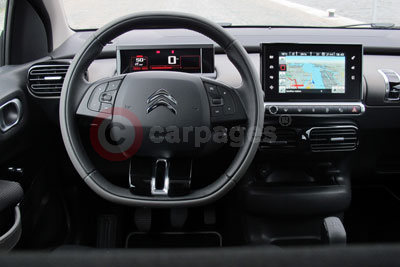 Citroen C4 Cactus (Interior View) (2014)
