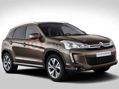 New Citroen C4 CROSSER