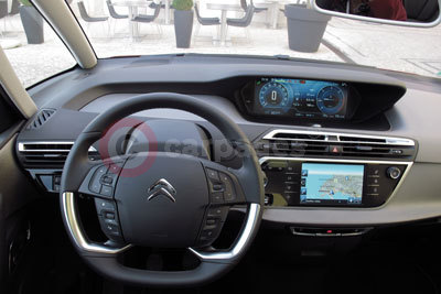 Citroen c4 picasso road test 2013 - C4 picasso interior ...